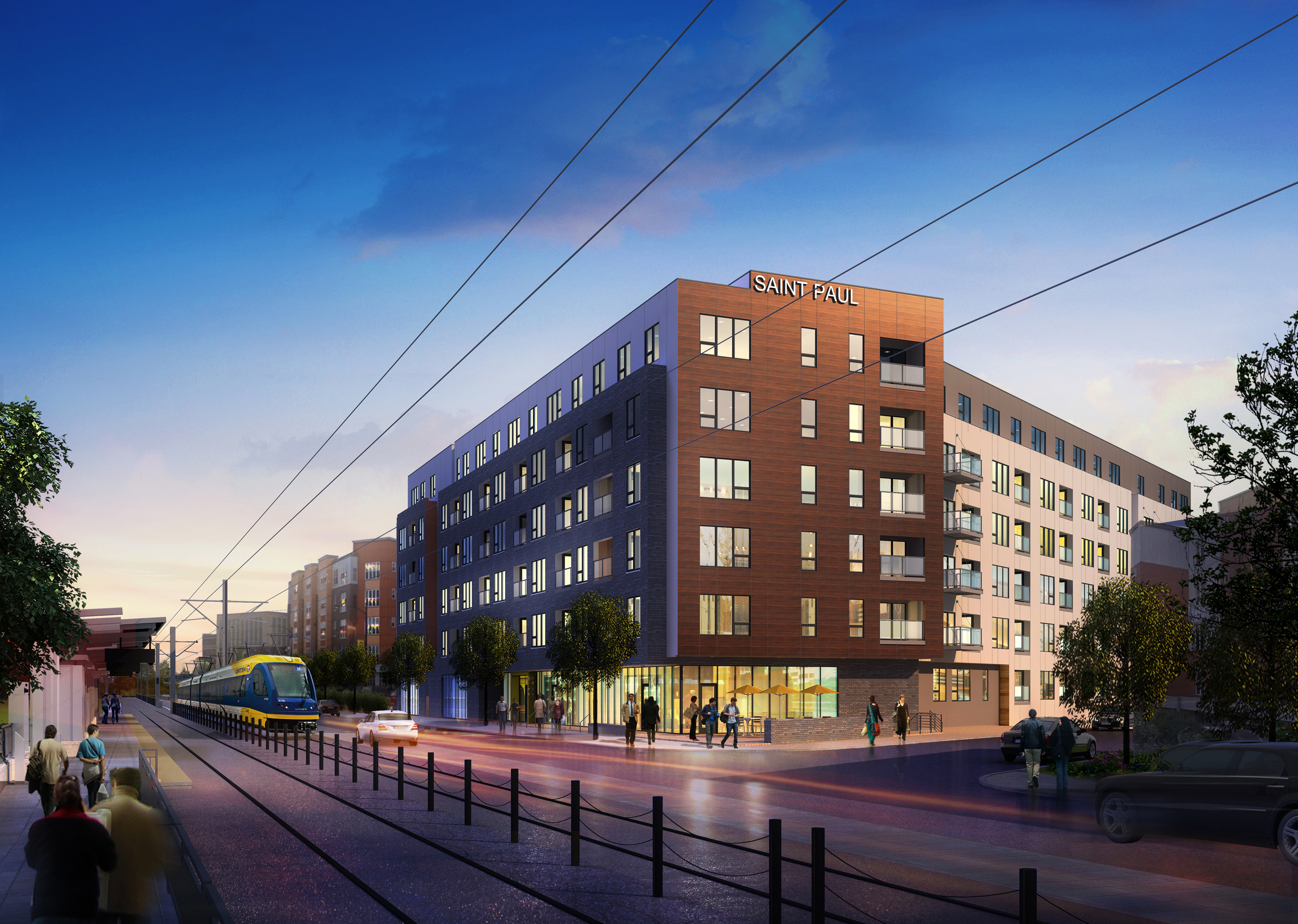 Urban plan Minneapolis Saint Paul Minnesota